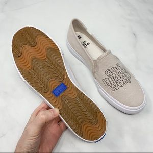 Keds Shoes - NEW Keds x The Bee & The Fox Boho Graphic Sneakers